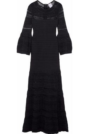 Hervé Léger Hervé Léger Woman Crochet Knit-paneled Bandage Gown Size XS