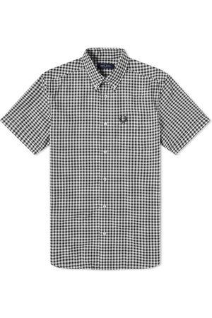 Fred Perry Men Short sleeves - Gingham Short Sleeve Shirt
