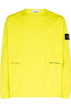 Stone Island Garment dyed crew neck sweatshirt