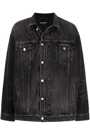Balenciaga Denim Jackets - Zip-up denim jacket