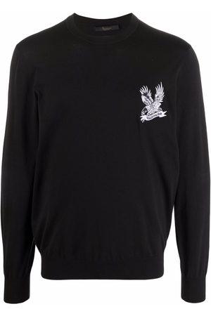 BILLIONAIRE Men Sweatshirts - Falcon-motif long-sleeved sweater