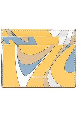 Emilio Pucci Abstract print cardholder