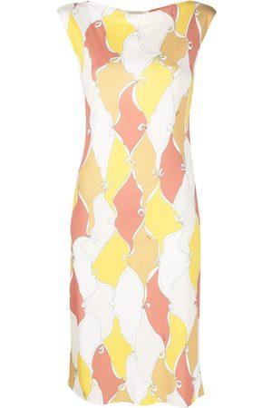 Emilio Pucci Losanghe-print sleeveless mini dress