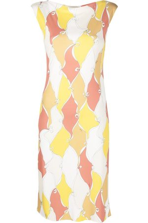 Emilio Pucci Losanghe sleeveless mini dress