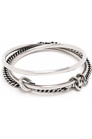 Ann Demeulemeester Double design bracelet