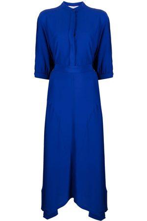 Stella McCartney Women Dresses - Tie-back handkerchief-hem dress