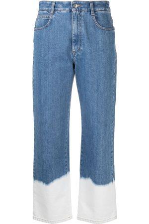 Stella McCartney Dip dye hem jeans