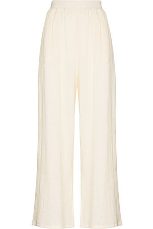 Missing You Already High-waisted wide-leg trousers