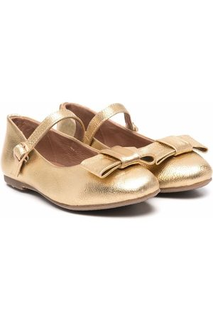 Age of Innocence Girls Ballerinas - Ellen bow-embellished ballerina shoes