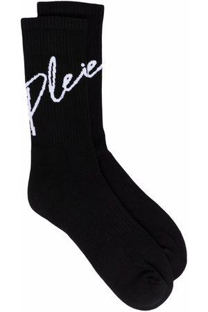 Philipp Plein Signature-print socks