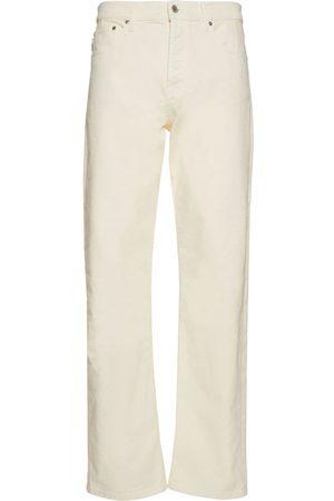 Msgm Cotton Denim Straight Jeans
