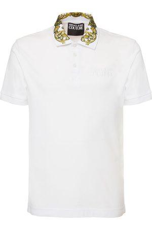 VERSACE Cotton Polo Shirt