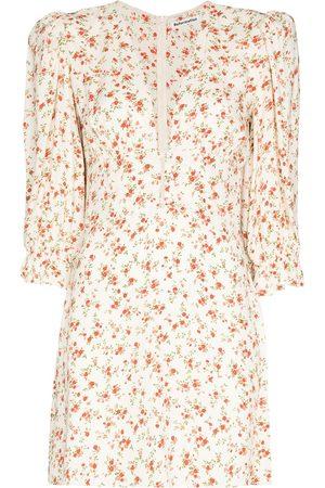 Reformation Marina V-neck minidress