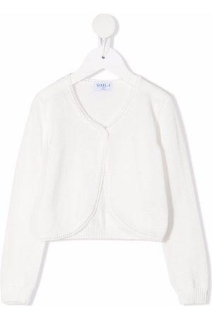 SIOLA Purl-knit cotton cardigan