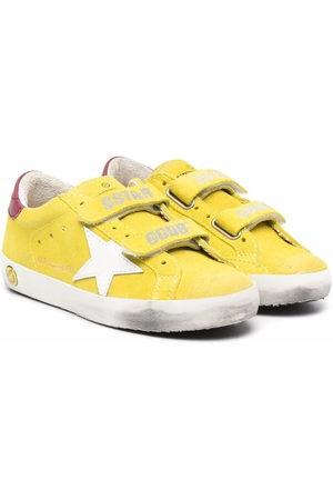 Golden Goose Boys School Shoes - Old-school suede trainers