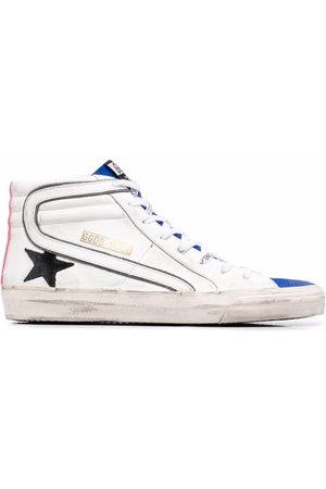 Golden Goose Men Sneakers - Slide high-top sneakers
