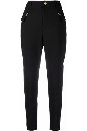 Moschino Women Skinny Pants - High-rise slim fit trousers