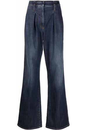 Brunello Cucinelli High-rise flared jeans
