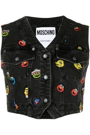 Moschino Women Waistcoats - Sesame Street© cropped waistcoat