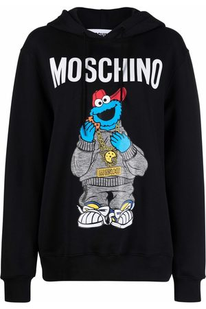 Moschino Sesame Street© logo hoodie
