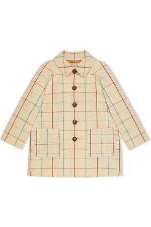 Gucci Check-pattern jacket - Neutrals