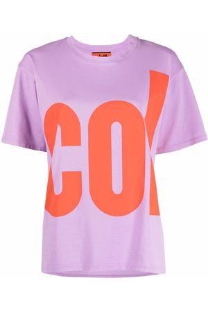 Colville Women T-shirts - Logo-print cotton T-shirt