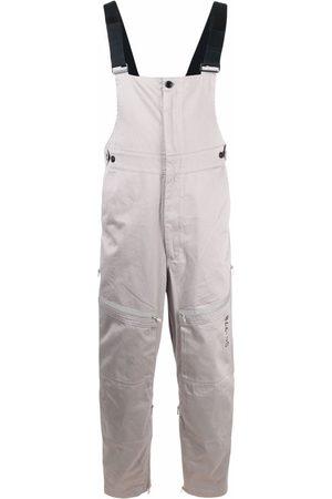 Diesel Men Jumpsuits - Patch-pocket green-label jumpsuit - Grey
