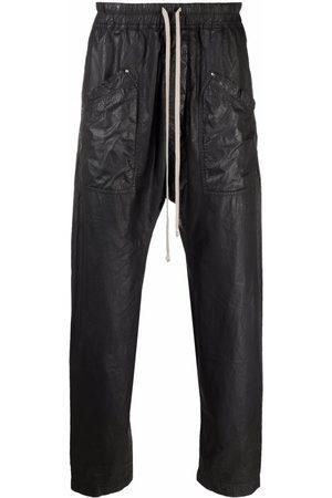 Rick Owens Men Cargo Pants - Drawstring cargo pants