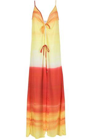 AMIR SLAMA Women Beach Dresses - Ombre-effect beach dress