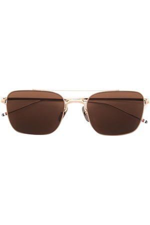 Thom Browne Aviators - TB120 aviator frame sunglasses