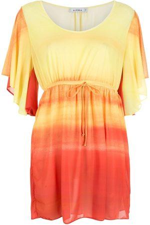 AMIR SLAMA Women Dresses - Gradient tie-waist dress