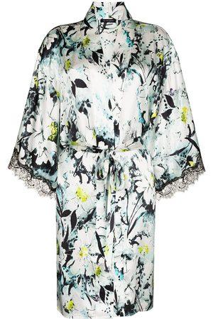 Sainted Sisters Scarlett floral-print robe