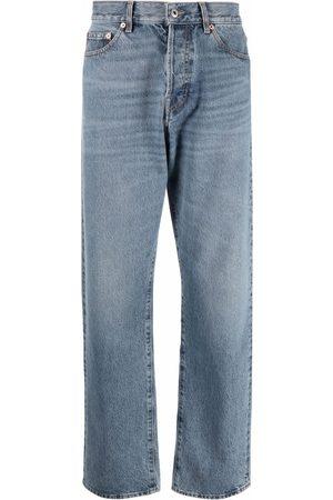 VALENTINO Straight-leg light-wash jeans