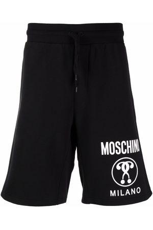 Moschino Men Bermudas - Double Question Mark bermuda shorts