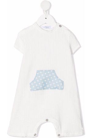 OPILILAI Star-print cotton romper