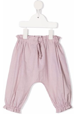OPILILAI Chinos - Striped tapered-leg trousers