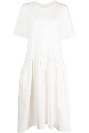 Cynthia Rowley Women Casual Dresses - Jersey cotton combo T-shirt dress