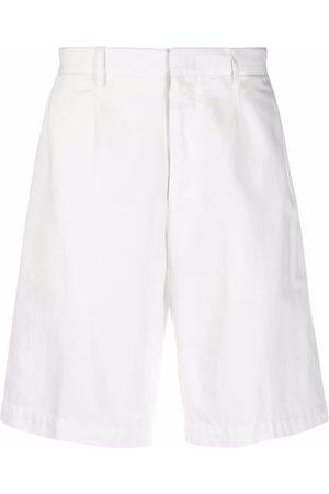 Ermenegildo Zegna Men Bermudas - Slim-cut chino shorts