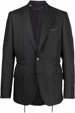BILLIONAIRE Single-breasted fitted blazer - Grey
