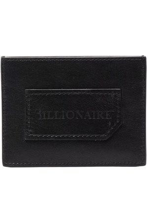 BILLIONAIRE Institutional embossed-logo cardholder