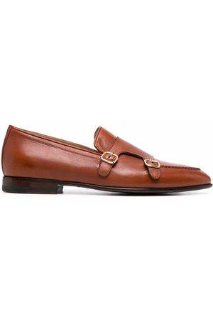 Scarosso Ernesto buckled monk shoes