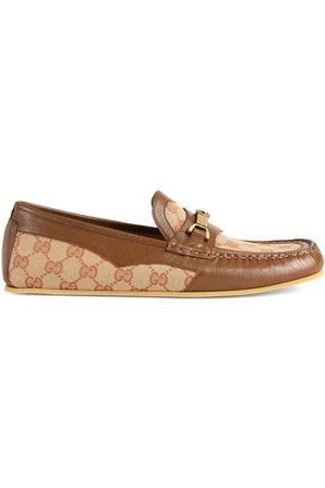 Gucci Men Loafers - Interlocking G Horsebit driving shoes