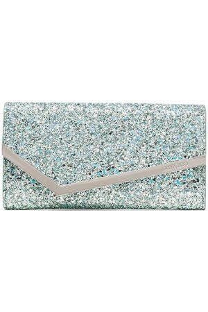 Jimmy Choo Women Clutches - Emmie glitter clutch bag