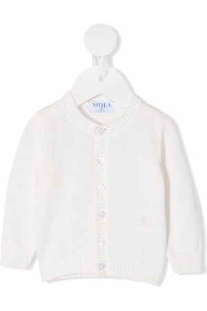 SIOLA Round-neck knitted cardigan