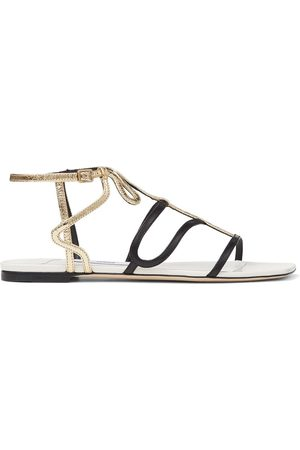 Jimmy Choo Vice colour-block flat sandals