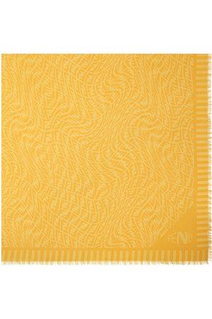 Fendi Men Scarves - FF Vertigo motif Keffiyeh scarf