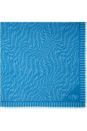 Fendi FF Vertigo motif Keffiyeh scarf
