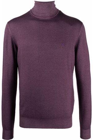 Etro Men Turtlenecks - Rollneck wool jumper