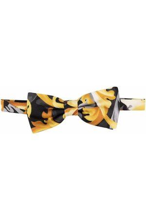 VERSACE Boys Bow Ties - Baroque-print bow tie
