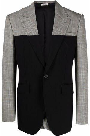 Alexander McQueen Spliced Prince of Wales jacket